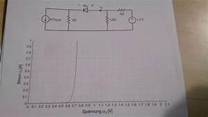 Spannungsabfall Am Widerstand Berechnen : schaltung elektrotechnik graph l sungsweg f r diodenstrom und spannung nanolounge ~ Themetempest.com Abrechnung