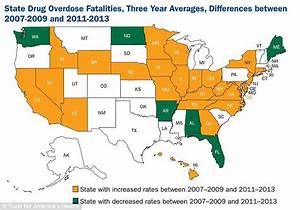 West Virginia has the highest rate of drug overdose deaths ...