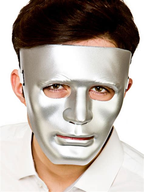 robot mask male partynutters uk
