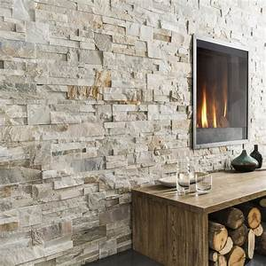 Pose Pierre De Parement : plaquette de parement pierre naturelle beige gris ~ Dailycaller-alerts.com Idées de Décoration
