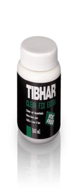 tibhar glues cleaners table tennis equipment rubbers