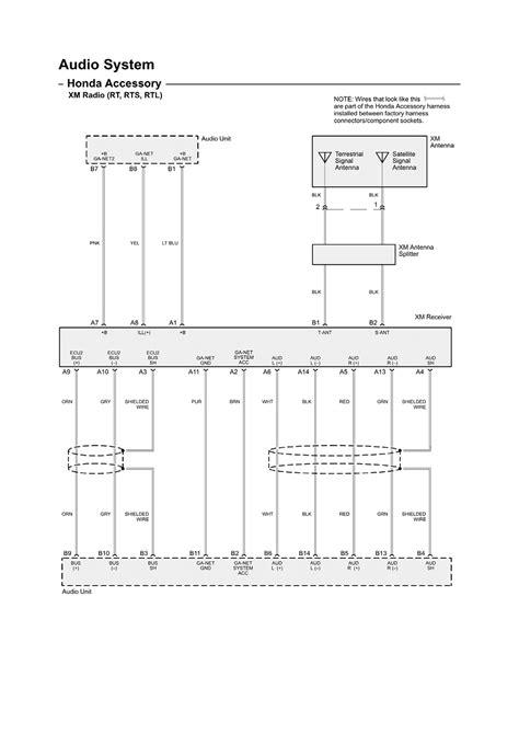 Honda Ridgeline Audio Wiring Diagram repair guides wiring diagrams wiring diagrams 1 of