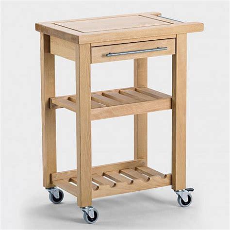 Küchenwagen Outdoor Ikea by K 252 Chenwagen Schmal Aus Holz Biber