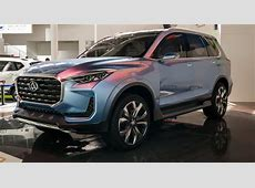 SAIC Maxus D90 SUV at Beijing auto show 2016 – World