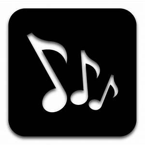 App Music Icon - Black Icons - SoftIcons.com
