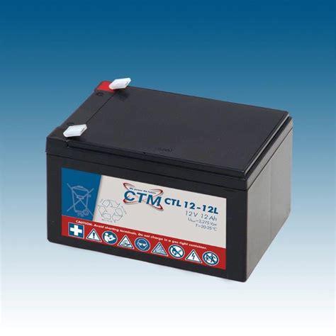 bleiakku 12v 12ah ctm agm batterie bleiakku ctl12 12l 12v 12ah design bis