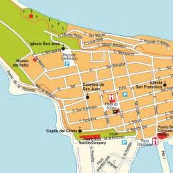San Juan Puerto Rico Map