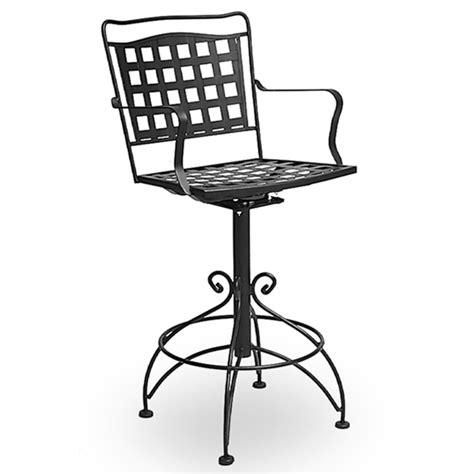 wrought iron outdoor bar stools bar stool collections