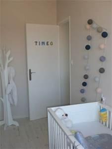 Guirlande Lumineuse Chambre : chambre grise bleu et blanche 6 photos pachole ~ Teatrodelosmanantiales.com Idées de Décoration