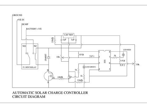 Diy Automatic Solar Charge Controller Steps With Pictures