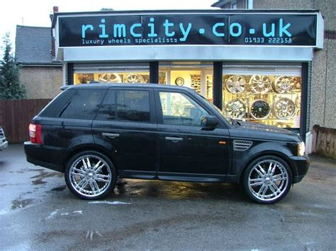 Land Rover Range Rover Sport Modification by Rimcityuk 2007 Land Rover Range Rover Sport Specs Photos