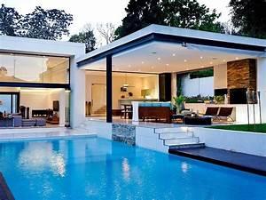 Hermosa casa de lujo con Alberca Fondos de escritorio ...