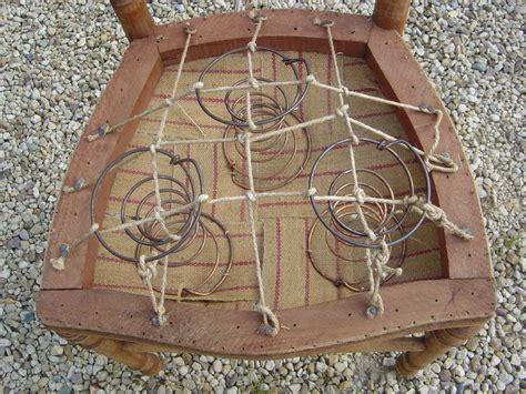 comment capitonner une chaise première rénovation de chaise ancienne cottage et patine