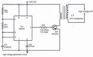 High Voltage Generator With Ne555