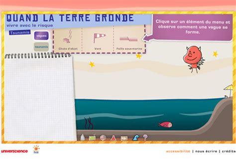 Quand La Terre Gronde Jeu Flash by Les Vagues Et Les Tsunamis Animation Flash Quand La