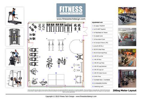 2d Gym Design & 2d Fitness Layout Portfolio