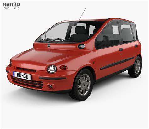 Fiat Model by Fiat Multipla 1998 3d Model Vehicles On Hum3d