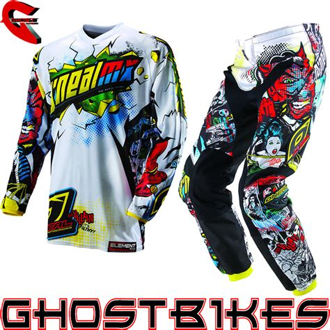 motocross gear for oneal 2013 element villain kids junior youth motocross