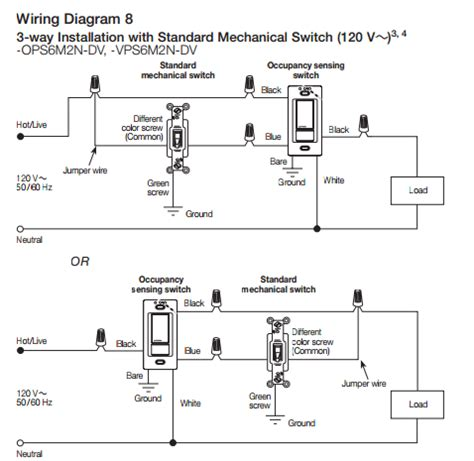 Lutron Occupancy Sensor Switch Wiring Diagram by Electrical Are There Quot Uncommon Quot 3 Way Switch Wirings