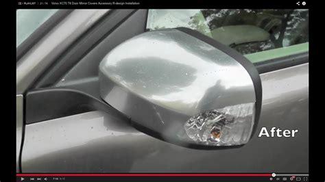 volvo door mirror covers accessory  design installation