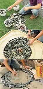 Mosaik Selber Machen : mosaik gartenweg anleitung zum nachmachen trittstein ~ Lizthompson.info Haus und Dekorationen