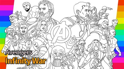 avengers infinity war how to draw super hero drawing