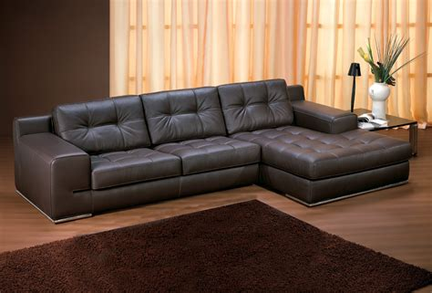 brown leather chaise sofa leather chaise lounge modern cool innovative with leather