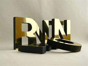 metallic gold letters 14 foam core letters With foam core letters