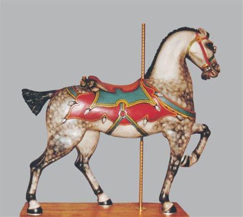 carousel horse joy antique morris 1900 horses hackney stander 1905 animals bayol antiquecarousels carousels rocking gustav circa sold antiques mane
