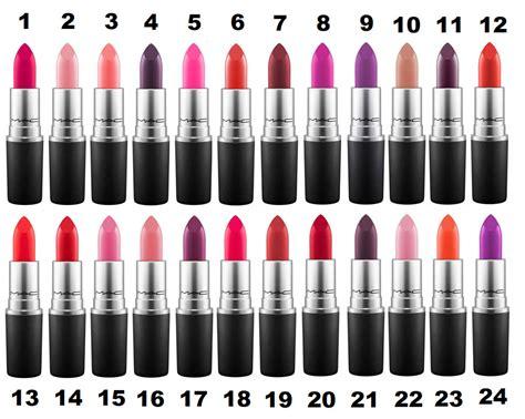 lipstick colors mac lipstick colours 26 shades to choose velvet
