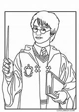 Potter Harry Coloring Printable Chamber Secrets sketch template