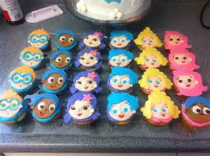 bubble guppies cupcake toppers bubble guppie party