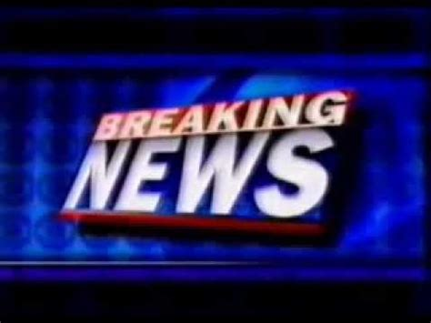 Breaking News - Sound Effect - YouTube
