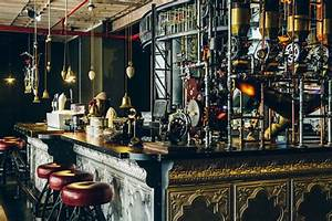 awesome steampunk interior design at truth cafe in south With interior decor shops cape town