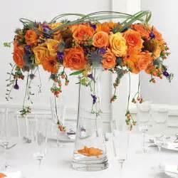 wedding floral centerpieces fall theme wedding