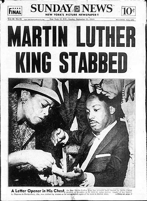 Remember the first assassination attempt on Martin Luther