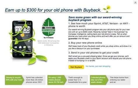 att phone buyback sprint heavily pushes buyback program phonesreviews uk