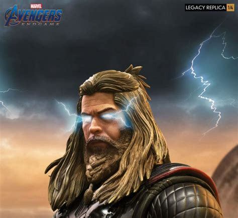 Avengers Endgame Legacy Replica Thor Statue From Iron