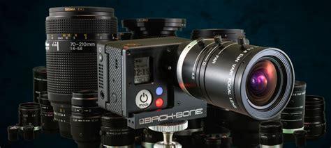 gopro hd hero black modified cs mount lens rib cage