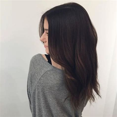 Brown And Black Hair by 1000 Ideas About Chocolate Brown Hair On