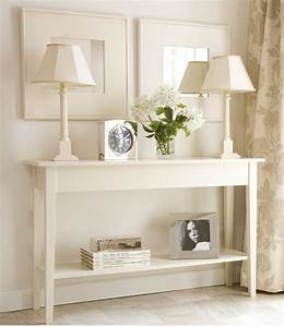 1000 ideas about white hallway on pinterest hallways for How to choose the right long sofa table