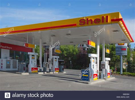 shell service station  sign showing  price