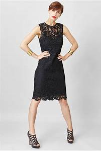 Black lace dress c39est ma robe for Robe romantique dentelle