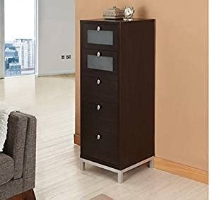 skinny cabinet with drawers amazon com wooden drawer unit tall home office storage