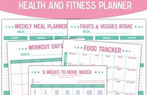 daily food journal printable free fitness planner health