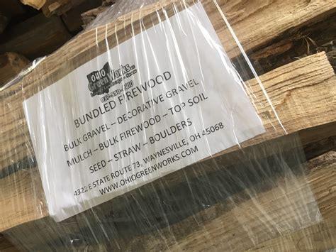 Bundled Firewood - Ohio Green Works LLC - Professional ...