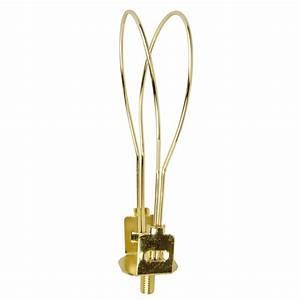 Portfolio brass lamp harp at lowes