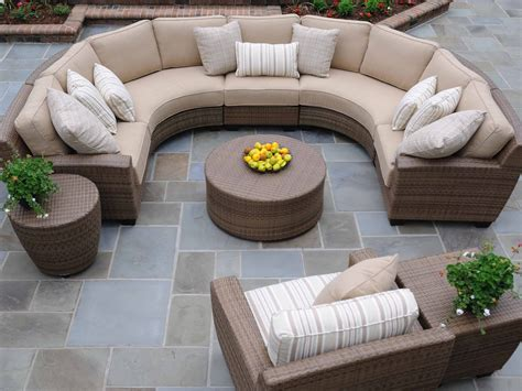 Semi Circle Patio Furniture Cover by Guides On Sectional Sofa Purchase Homesfeed
