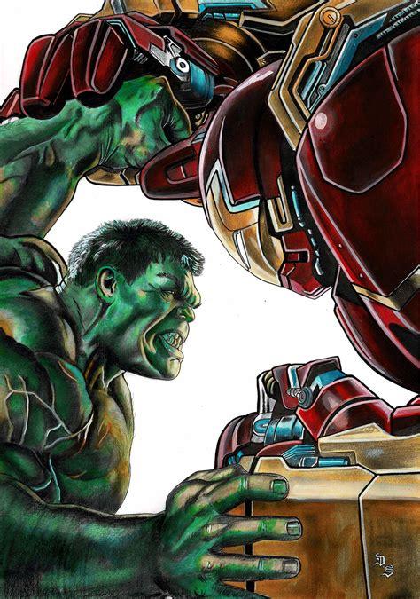 Hulk Vs Iron Man Corner4art