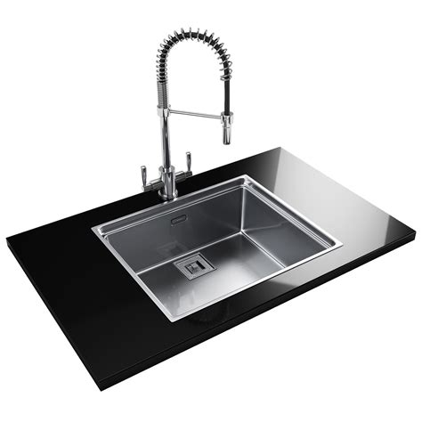 Franke Centinox Cex 210 Stainless Steel 10 Bowl Inset